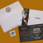 Hunger games invitation set