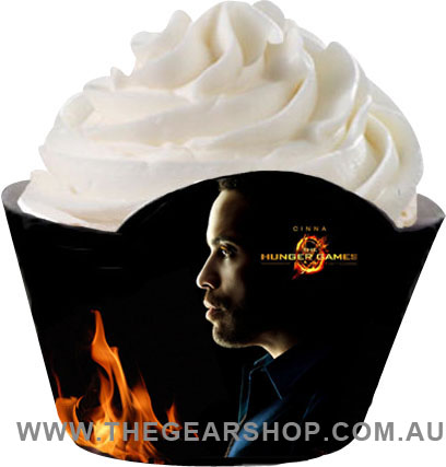 hunger games cupcake wrapper_cinna