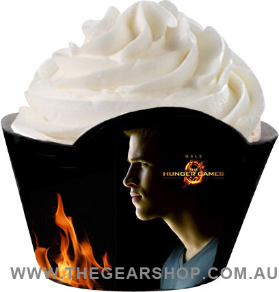 hunger games cupcake wrapper_gale