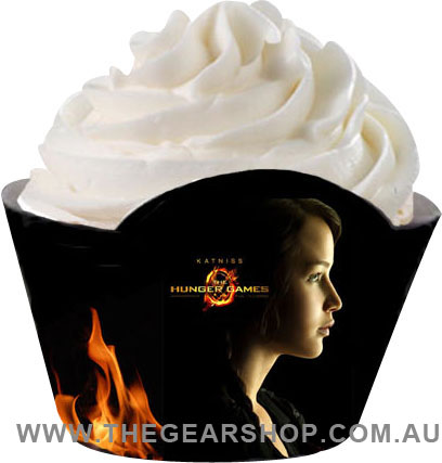 The Hunger Games Party Cupcake Wrappers (downloadable)