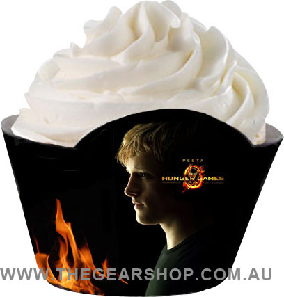 hunger games cupcake wrapper_peeta