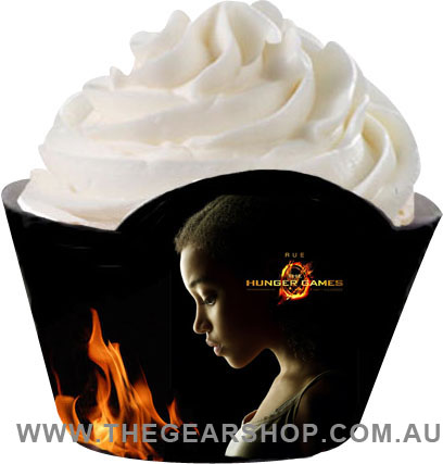 hunger games cupcake wrapper_rue