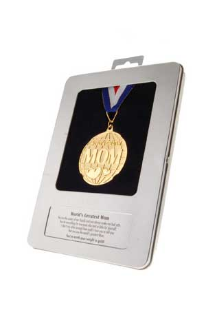 WORLDS GREATEST MUM Medal
