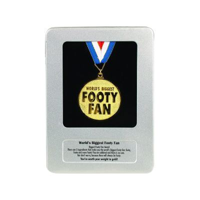 footy fan award medal