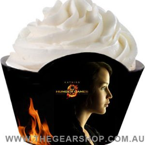 Hunger Games Katniss party cupacke wrappers