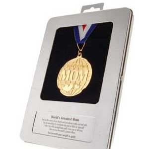 World's greatest mum medal award