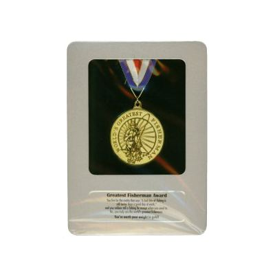 fisherman award medal