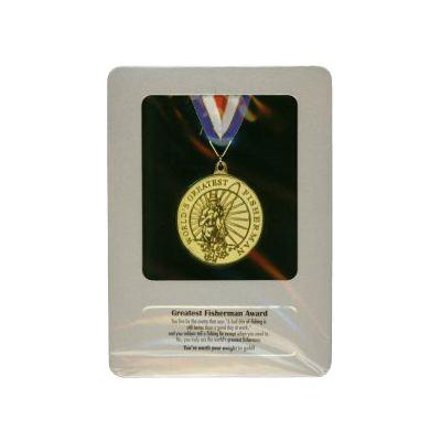 fisherman award medal